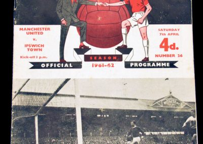Ipswich Town v Manchester United 07.04.1962