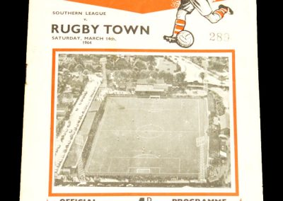 Rugby Town v Kettering 14.03.1964