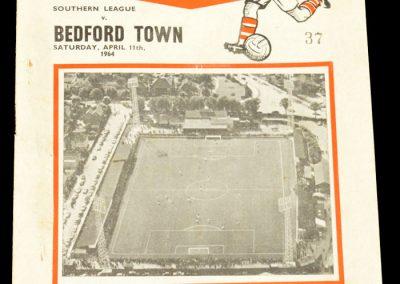 Bedford Town v Kettering 11.04.1964