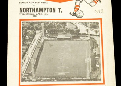 Northampton v Kettering 15.04.1964 | Senior Cup Semi-Final