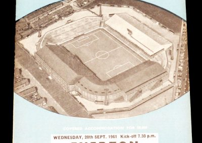 Everton v Manchester City 20.09.1961