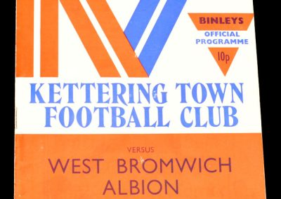 Kettering v West Bromwich Albion 06.12.1976 | Postponed to 21.12.1976
