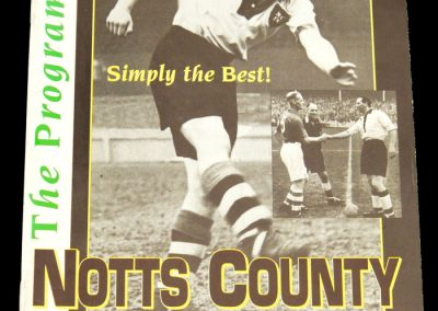 Notts Co v Bury 19.11.1996