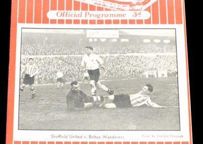 Sheffield United v Newcastle United 01.01.1955