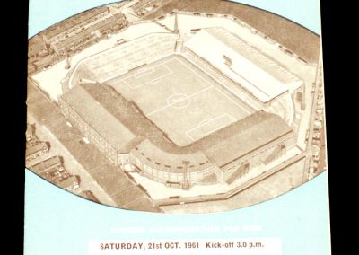 Manchester City v Nottingham Forest 21.10.1961