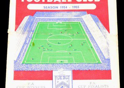 Burnley FC v Newcastle United 22.01.1955