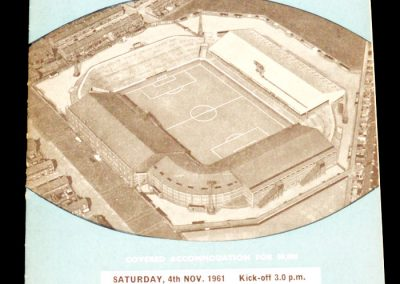 West Ham United v Manchester City 04.11.1961