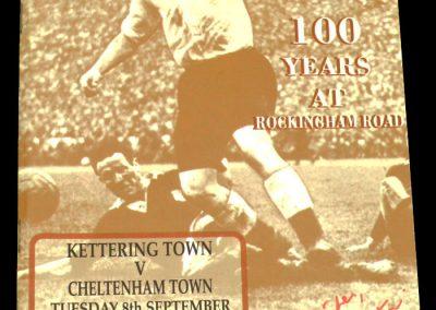 Kettering v Cheltenham 08.09.1998