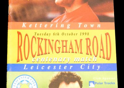 Kettering v Leicester City 06.10.1998