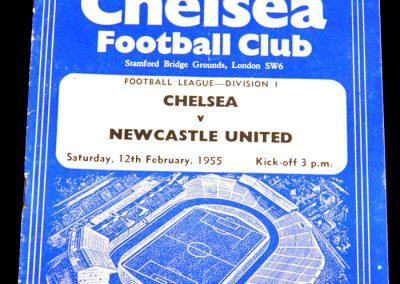 Chelsea v Newcastle United 12.02.1955