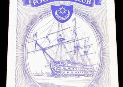 Portsmouth FC v Newcastle United 05.03.1955