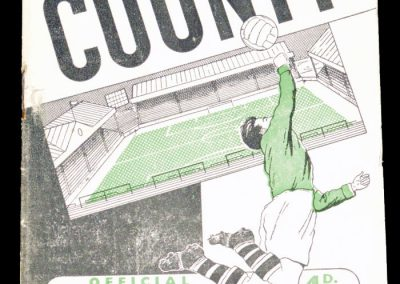 Notts County v Manchester City 06.01.1962 | FA Cup 3rd Round