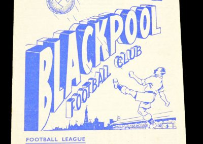 Newcastle United v Blackpool 24.11.1956