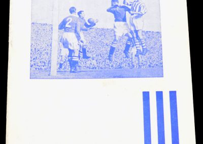 Huddersfield Town v Newcastle United 16.04.1955