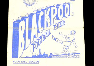 Burnley v Blackpool 01.05.1957