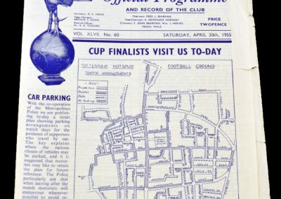 Tottenham Hotspur v Newcastle United 30.04.1955
