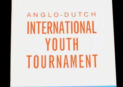 Anglo - Dutch Tournament 17 & 19.04.1965