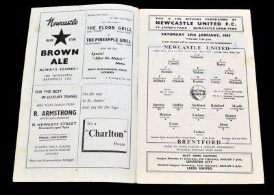 Brentford v Newcastle United 29.01.1955 | FA Cup 4th Round