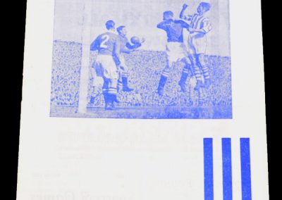 Huddersfield Town v Newcastle United 12.03.1955 | FA Cup 6th Round