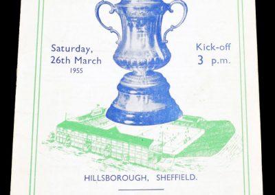 York City v Newcastle United 26.03.1955 | FA Cup Semi-Final