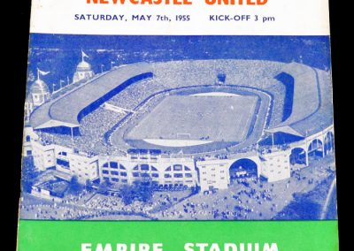 Manchester City v Newcastle United 07.05.1955 | FA Cup Final