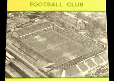 Norwich City v Southampton 28.11.1956
