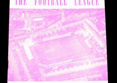 Irish League v English League 14.09.1960