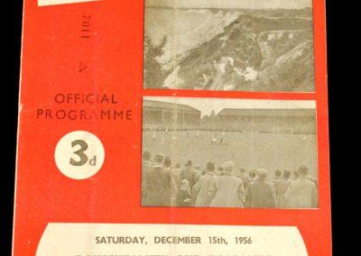 Bournemouth and Boscombe Atheltic v Southampton 15.12.1956