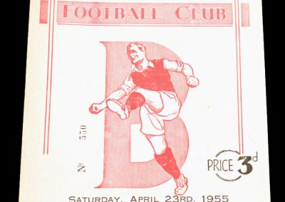 England v Wales 23.04.1955   Amateur International