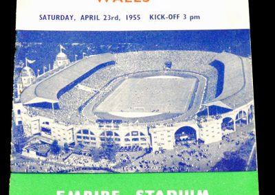 England v Wales 23.04.1955   Schools International