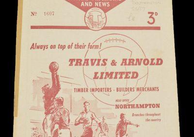 Southampton v Northampton 09.01.1958