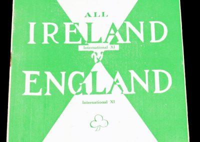 Ireland v England 09.05.1955