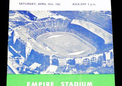 England v Scotland 15.04.1961