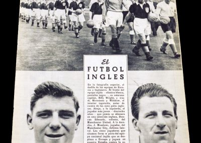 Spain v England 18.05.1955