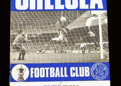 Chelsea v Everton 26.08.1970