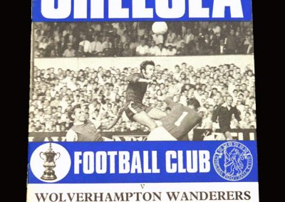 Chelsea v Wolves 12.09.1970