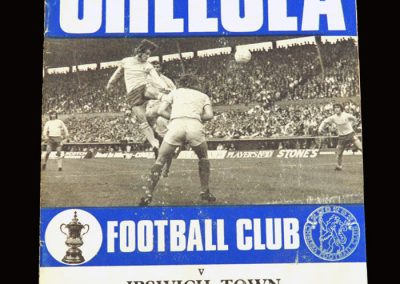 Chelsea v Ipswich 26.09.1970