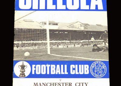 Chelsea v Man City 10.10.1970