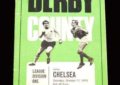 Chelsea v Derby 17.10.1970