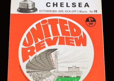 Chelsea v Man Utd 28.10.1970 - League Cup 4th Round