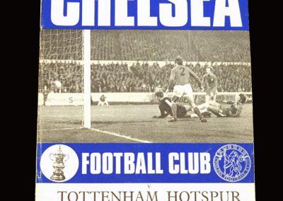Chelsea v Spurs 14.11.1970