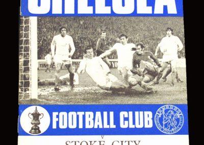 Chelsea v Stoke 21.11.1970
