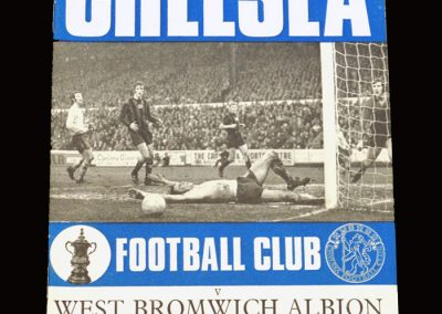 Chelsea v West Brom 30.01.1971