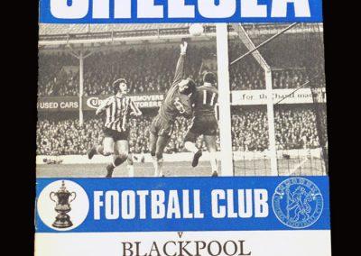 Chelsea v Blackpool 06.03.1971