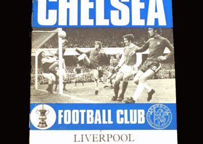 Chelsea v Liverpool 12.04.1971