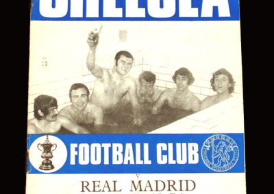 Chelsea v Real Madrid 19.05.1971 - UEFA Cup Winners Cup Final