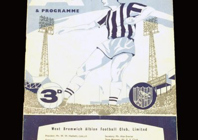 West Brom v Man City 30.09.1961