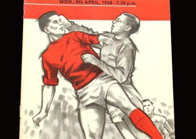 Middlesbrough v Deventer 08.04.1968 - Friendly