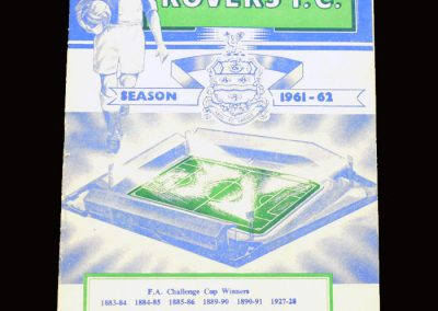 Blackburn v Man City 09.12.1961