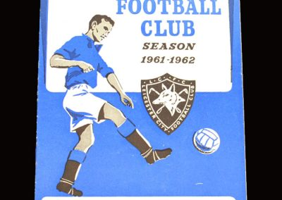 Leicester v Man City 16.12.1961